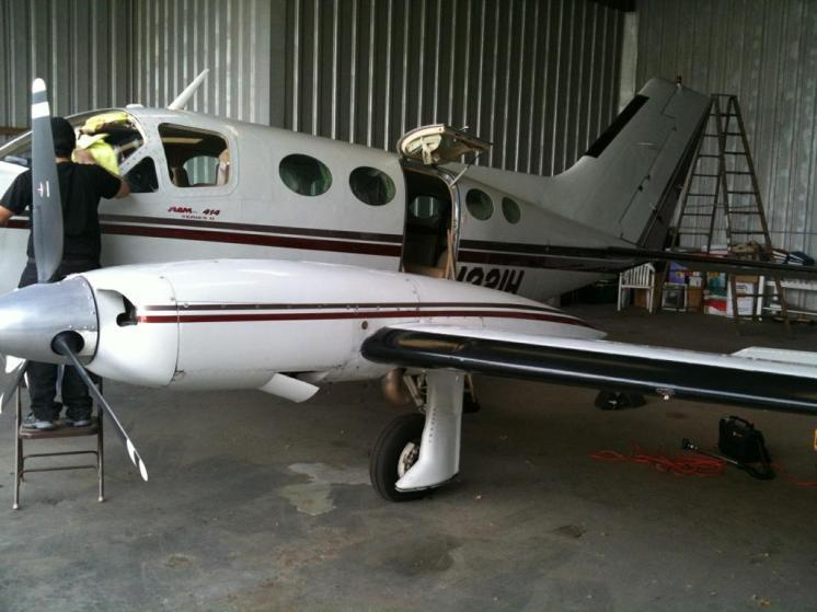 1975 Cessna 414 Piston Exterior