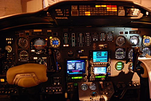 1981 Citation 1SP Cockpit