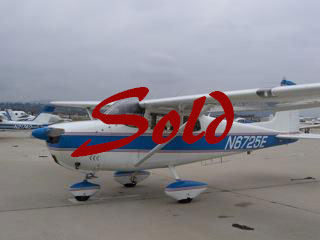 1959 Cessna 175 Piston Exterior Sold