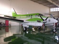 1987 KING AIR C90A Exterior Side View