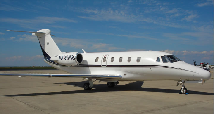 1984 Citation III Jet Exterior